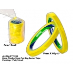 STT-940 Nissho 9mm PVC Bag Sealer Tape - Yellow