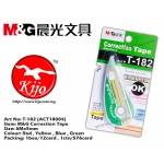 T-182 (ACT18004) M&G Correction Tape Green