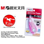 T-182 (ACT18004) M&G Correction Tape Red
