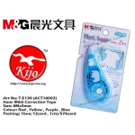 T-5130 (ACT18002) M&G Correction Tape Blue