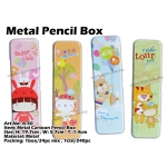 A-50 Metal Cartoon Pencil Box