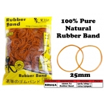 RB905A 25mm 100% Pure Natural Rubber Band