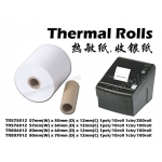 TR806012 80mmX60mmX12mm Thermal Rolls