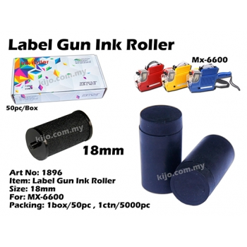 1896 18mm Label Gun Ink Roller