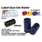 20mm Label Gun Ink Roller