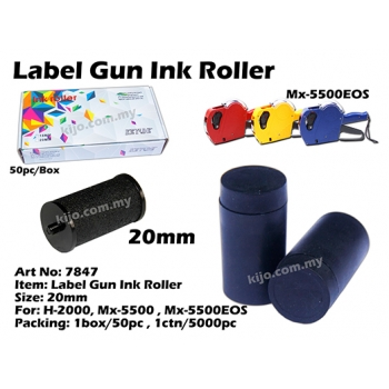 7847 20mm Label Gun Ink Roller