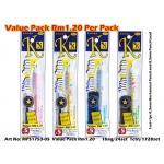 MPS1753-05 KIJO Value Pack Mechanical Pencil Set