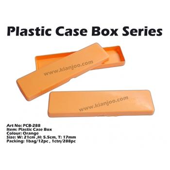 PCB-288 Plastic Case Box Orange