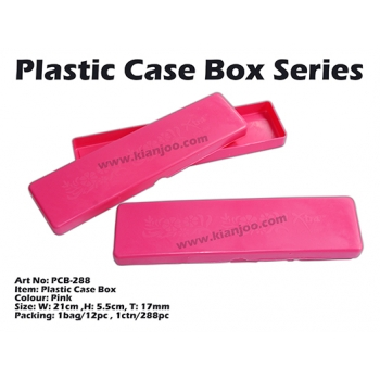 PCB-288 Plastic Case Box Pink