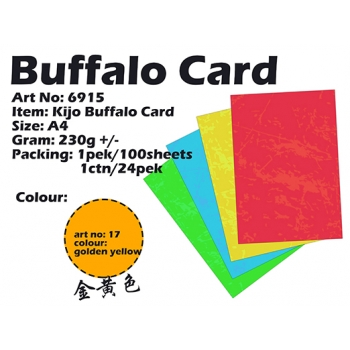 6915 Kijo Buffalo Card code: 17