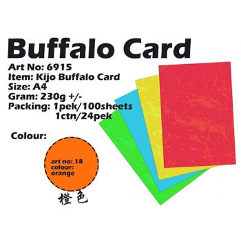 6915 Kijo Buffalo Card code: 18