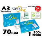 Paper One Copier High Speed Premium Copy Paper A3 Size Paper