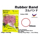 RB180-R Kijo Red Rubber Band