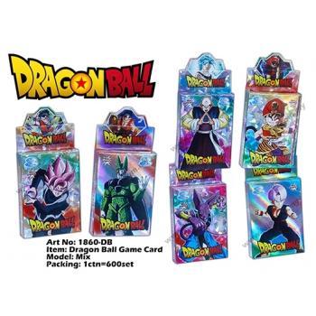 1860-DB Dragon Ball Game Card