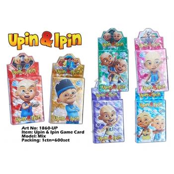 1860-UP Upin & Ipin Game Card