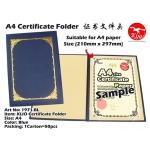1971-BL KIJO Certificate Folder ~ Blue