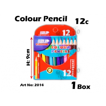 2014 12c Short Color Pencil