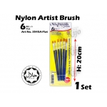 3545 6in1 Card Nylon Artish Brush