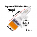 4741-8 Nylon Oil Paint Brush No8