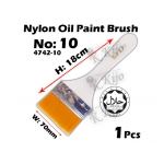 4742-10 Nylon Oil Paint Brush No10