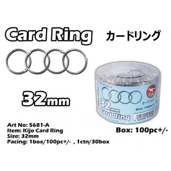 5681-A 32mm Kijo Card Ring