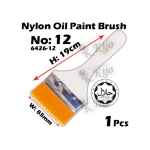 6426-12 Nylon Oil Paint Brush No12