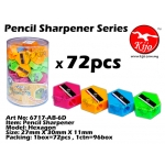 6717-AB-6D Pencil Sharpener