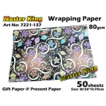 7221 Master King Wrapping Paper Design: 137
