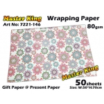 7221 Master King Wrapping Paper Design: 146