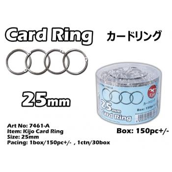 7461-A 25mm Kijo Card Ring