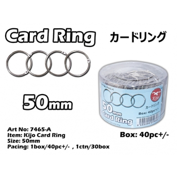 7465-A 50mm Kijo Card Ring