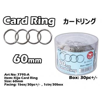 7795-A 60mm Kijo Card Ring