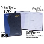 8497 Diary Book 2019 - Blue