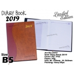 8497 Diary Book 2019 - Brown