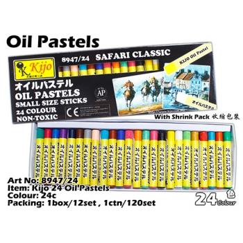8947/24 Kijo 24 Oil Pastels