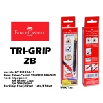 FC-111824-12 Faber-Castell TRI-GRIP PENCILS