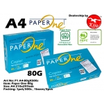 Paper One A4 Paper 80g X 500s