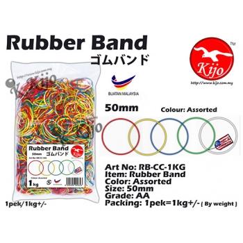 RB-CC-1KG Color Rubber Band 1KG