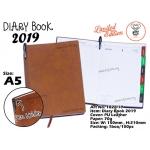 1828-19 Diary Book 2019 - Brown