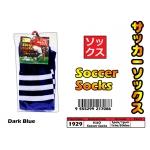 1929 KIJO Adult Soccer Socks - Dark Blue