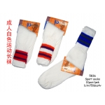 5836 Cotton White Colour Sports Socks