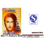 7517-11 Kang Chen Hair Dye Cream No:11 Auburn Red