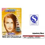 7517-20 Kang Chen Hair Dye Cream No:20 Chestnut