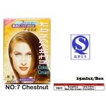 7517-7 Kang Chen Hair Dye Cream No:7 Chestnut