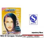 7517-9 Kang Chen Hair Dye Cream No:9 Grape Violet