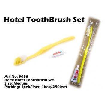 9098 Hotel Toothbrush Set