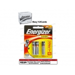 9332 Energizer Battery MAX AAA E92 BP-3(B2G1)