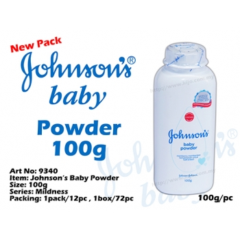 9340 Johnsons Baby Powder