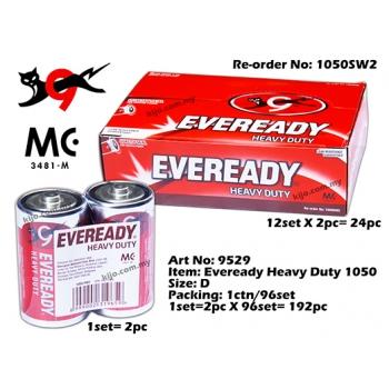9529 Eveready Heavy Duty 1050