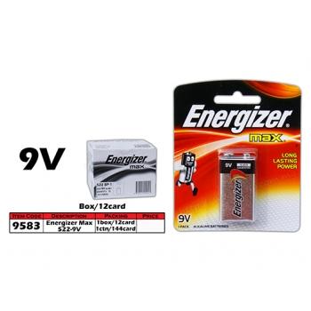 9583 Energizer Max 522 - 9V Battery